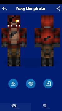 Skins for Minecraft PE - FNAF apk screenshot