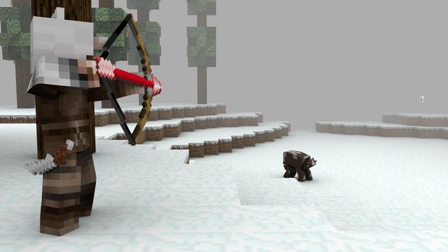Hunter Skins for Minecraft PE apk screenshot