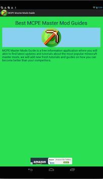 Master Guide for MCPE apk screenshot