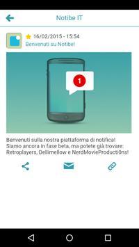 Notibe apk screenshot
