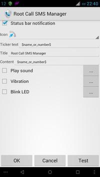 Root Call SMS Manager apk screenshot