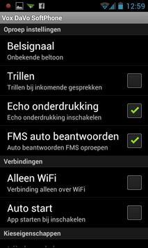 Vox DaVo Softphone apk screenshot