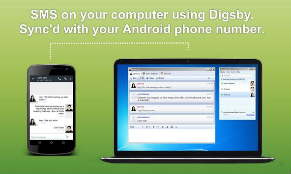 SMS Plugin for Digsby poster