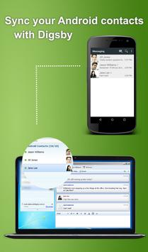 SMS Plugin for Digsby apk screenshot