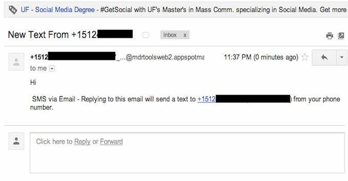 SMS for Gmail apk screenshot