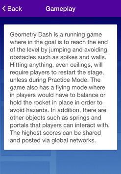 Tips for Geometry Dash apk screenshot