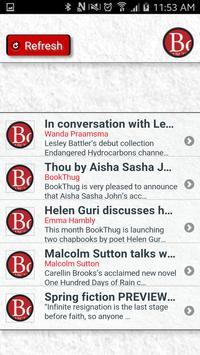 The BookThug App apk screenshot
