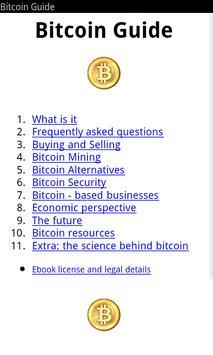 Learn Bitcoin free apk screenshot