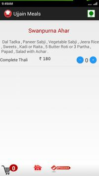 Ujjain Meals apk screenshot