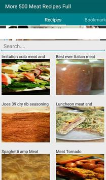 Meat Recipes Full apk screenshot