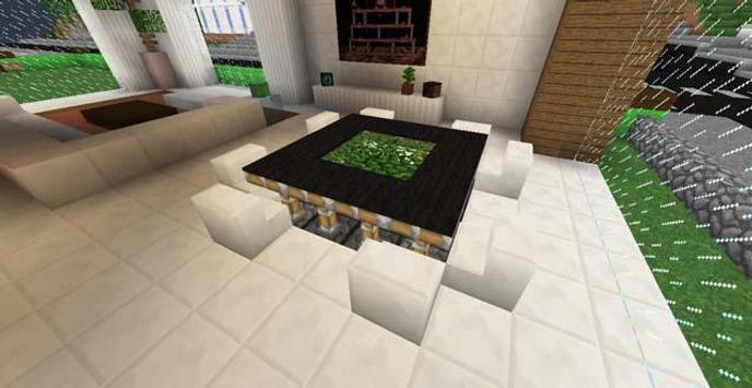 Мебель для Майнкрафт PE apk screenshot