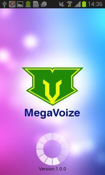 MegaVoize poster