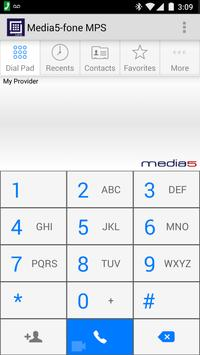 Media5-fone MPS VoIP Softphone poster