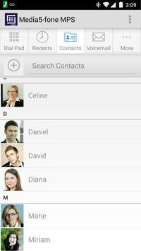 Media5-fone MPS VoIP Softphone apk screenshot
