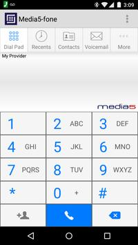 Media5-fone VoIP SIP Softphone poster