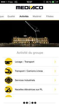 Mediaco Levage apk screenshot