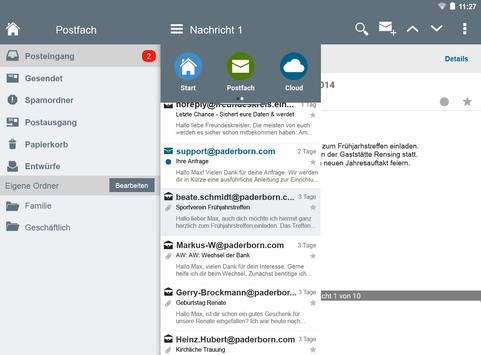 Paderborn Mail apk screenshot