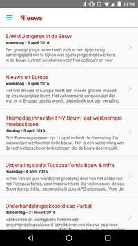 FNV Bouw App apk screenshot