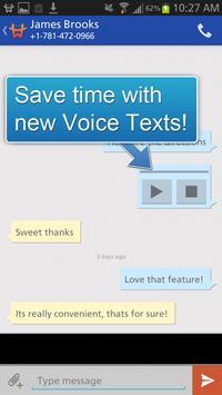 GoHeyWire Text FREE Texting apk screenshot