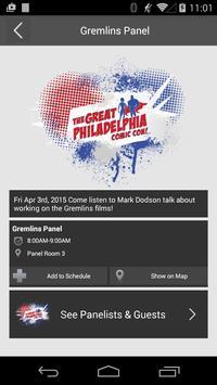 Great Philadelphia Comic Con apk screenshot