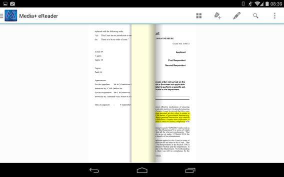 Media+ eReader apk screenshot