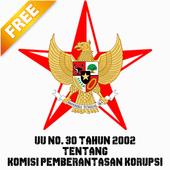 UU KPK NO. 30 TAHUN 2002 icon