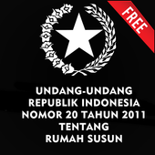 UU RUMAH SUSUN NO. 20 TH 2011 icon