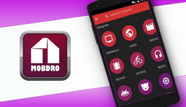 Mobdro Online Reference apk screenshot