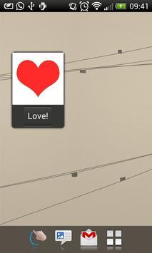 Affection sender apk screenshot