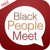 Free Black People Meet Guide icon