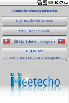 Meetecho poster