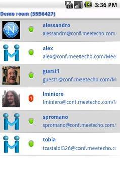 Meetecho apk screenshot