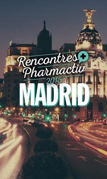 Rencontres Pharmactiv 2015 poster