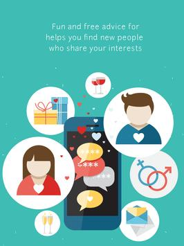 Meeting New People Chat Advise poster