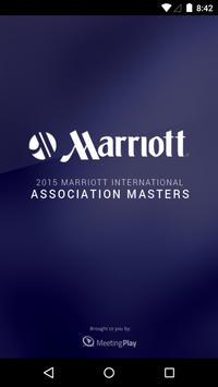 Marriott Masters 2015 poster