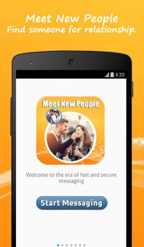 Meet New People Advice poster