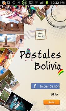 Postales Bolivia poster