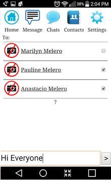 Melero Messenger apk screenshot