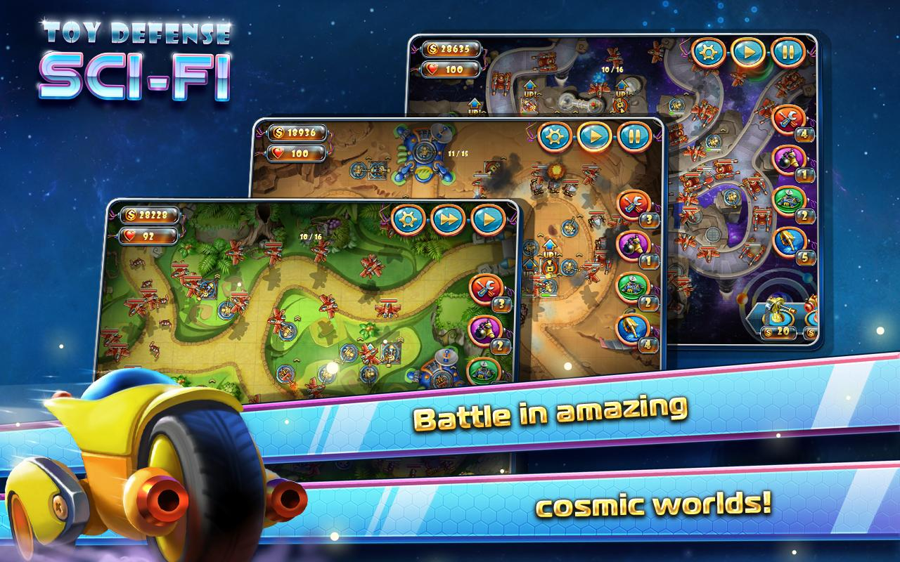 App Toy Installer : Toy defense sci fi td free apk download strategy