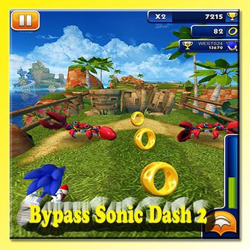 Bypass Sonic Dash 2 poster