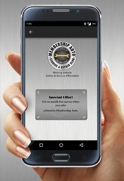 Membership Auto apk screenshot