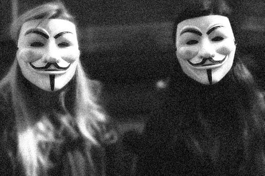 Anonymous Mask Hacker Maker poster