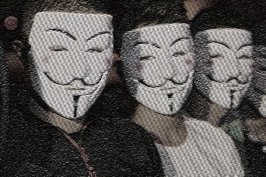Anonymous Mask Hacker Maker apk screenshot