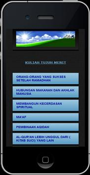 Kuliah Tujuh Menit poster