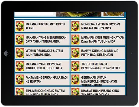 Tips Makan Sehat poster