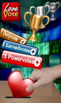 Lovevote for Android apk screenshot