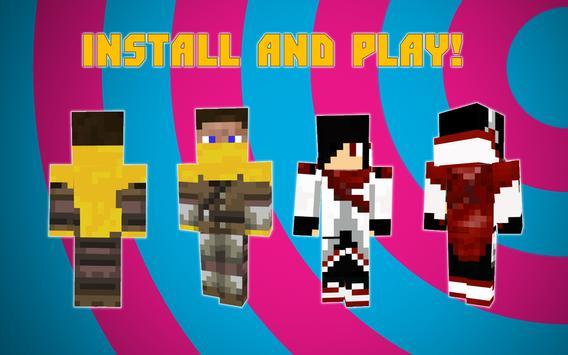 Cape skins for Minecraft apk screenshot