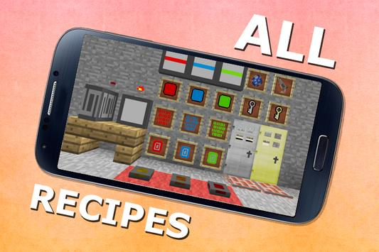 Mechanism Recipes for MCPE apk screenshot