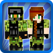Military skins for Minecraft icon