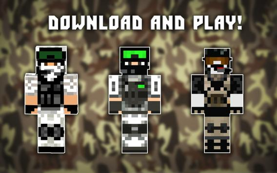 Military skins for Minecraft apk screenshot